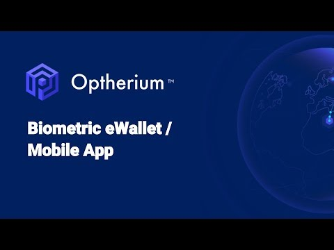 Optherium - biometric secure wallet for your digital assets