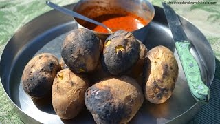 Black Potatoes | Village Food Factory | Indian Food Taste Test Episode-5 with Nikunj Vasoya