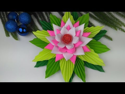 Paper Flowers | Paper Crafts For School | Paper Craft | Paper Flowers Easy