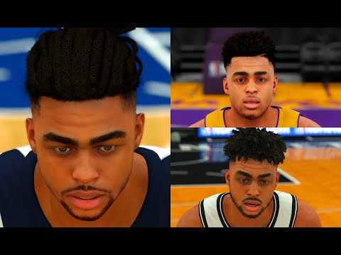 d'angelo-russell-ratings,-stats-and-gameplay-evolution-(nba-2k16---nba-2k20)