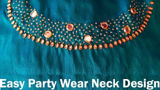 How to Make Beautiful Neck Des…