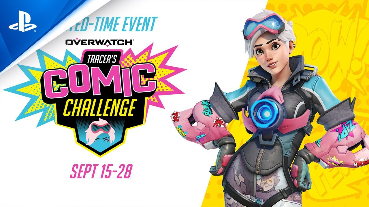 Overwatch - Tracer's Comic Challenge Launch Sizzle | PS4
