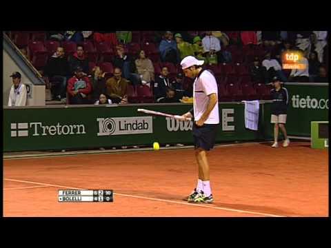 David Ferrer vs Simone Bolelli (ATP 250 Bastad 2012) Partido Completo