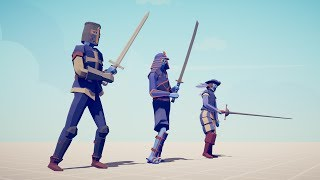 SWORD TRIO vs EVERY UNIT - Totally Accurate Battle SImulator TABS