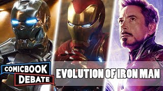 Evolution of Iron Man in the MCU in 9 Minutes (2019)