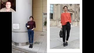 С чем и как носить свитер Женский стиль 2020