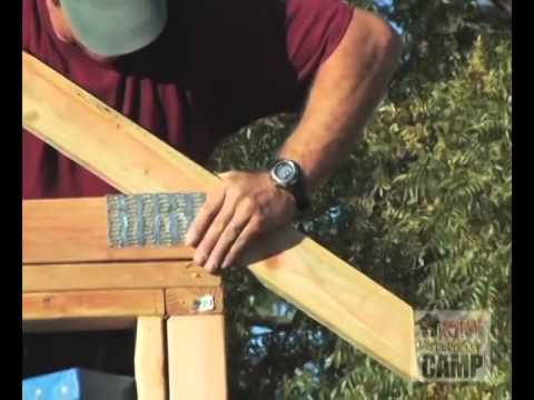 How to Install Trusses - Laying Out and Installing