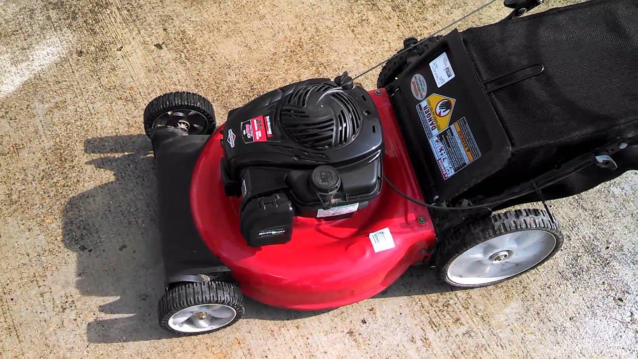 Troy Bilt TB110 Lawn Mower B&S 550EX Series Engine – It's