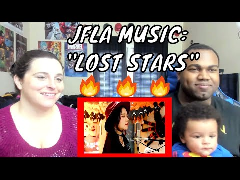 Adam Levine - Lost Stars Cover By J.Fla REACTION