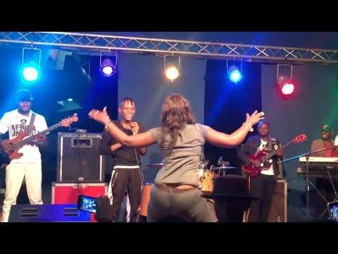 Innoss'B - Live @ Fan-Zone - Stade des Martyrs de Kinshasa