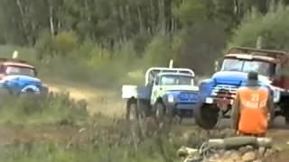EXTREME Racing on the trucks in Russia / Гонки на грузовиках Кубок ЗиЛа 2000