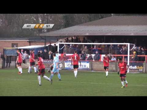 Hayes & Yeading v Slough Town - 27th Dec 2016