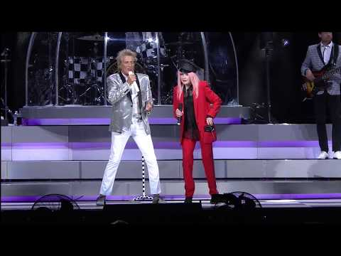 Sir Rod Stewart with Cyndi Lauper - This Old Heart of Mine Live mp3