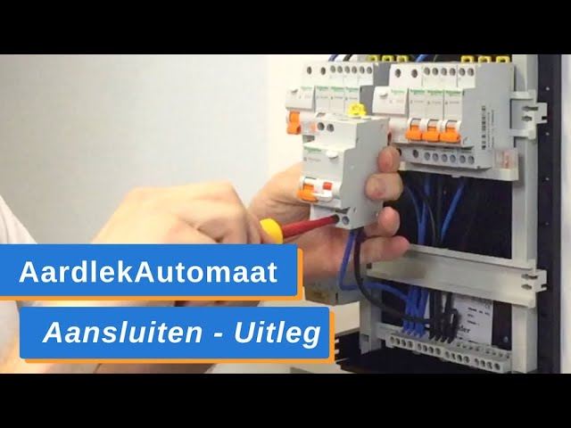 AardlekAutomaat Aansluiten en in de Groepenkast Monteren - Uitleg Zelf AardlekAutomaat Installeren