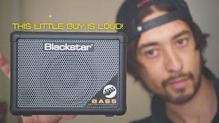 Фото Blackstar Fly 3 Bass  3-watt Bass Combo Amp!
