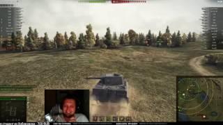 Упоротые бои стоковый Tiger   с 25 экипажем реактивный бой на т95