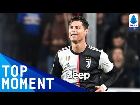Ronaldo Scores Insane Goal With Giant Leap! | Sampdoria 1-2 Juventus | Top Moment | Serie A TIM
