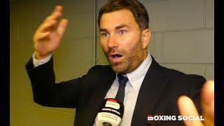 EDDIE HEARN REACTS TO 'BRILLIANT' RITSON WIN, CHEESEMAN-FITZGERALD, ALLEN-DUBOIS & JOSH TAYLOR
