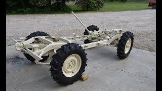 Submarine Willys Jeep Restomod - 6 - Rolling Chassis