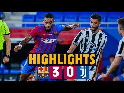 HIGHLIGHTS | Barça 3–0 Juventus | BARÇA WIN GAMPER TROPHY 🏆🏆