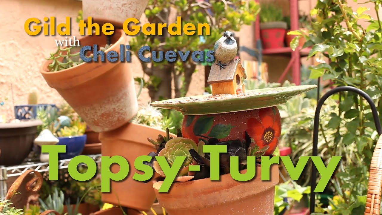How To Make A Topsy Turvy Planter For Your Garden In 37 Seconds!