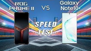 Asus Rog Phone 2 vs Samsung Galaxy Note 10+ SPEED TEST