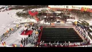 I Чемпионат Мира по ледяному плаванию, Мурманск,  20 марта 2015 года(Официальный видеоотчет о I Чемпионате Мира по ледяному плаванию, проходившем 20 марта 2015 года на Семёновском..., 2015-03-25T10:25:51.000Z)