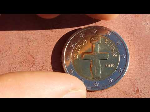 Rare 2 Euro Coin - Cyprus - Only 200,000 Minted!!!!