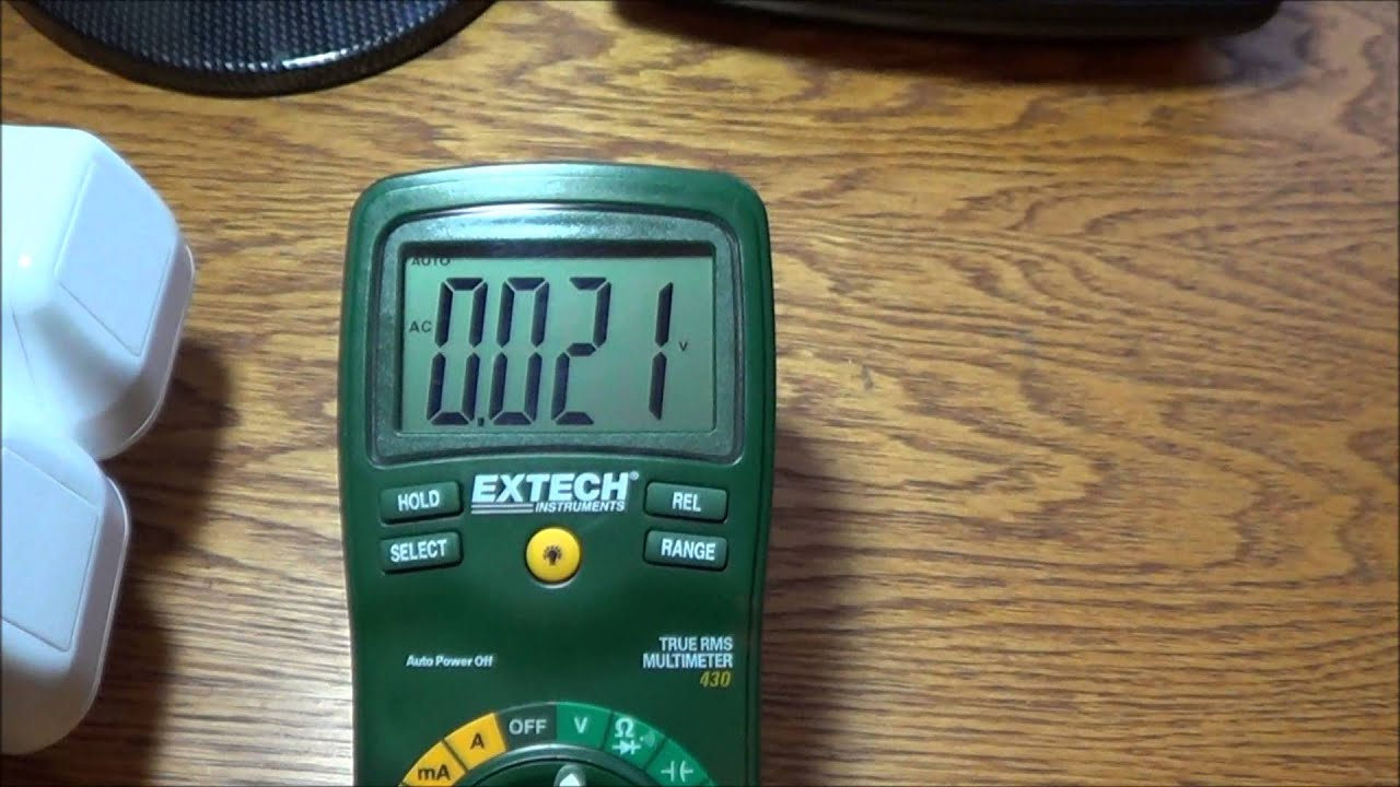 Use Electric Measuring Devices : Grounding earthing measuring body voltage emf protection