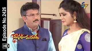 Manasu Mamata | 30th October 2018 | Full Episode No 2426 | ETV Telugu
