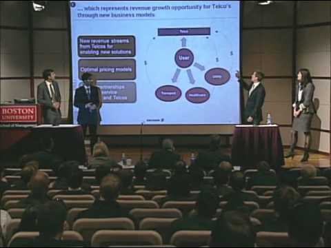 5th Annual Tech Strategy Business Case Competition - Team Abu Dhabi