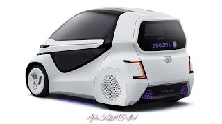 2018 TOYOTA Concept-i RIDE / Self-Driving Car for Disabled People, Debuting at Tokyo Motor Show 2017