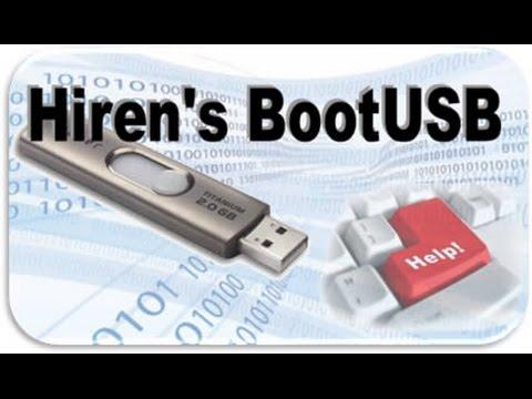 Hướng dẫn tạo USB Hiren Boot [USB Boot] đơn giản nhất, dễ dàng nhất [Có link download]