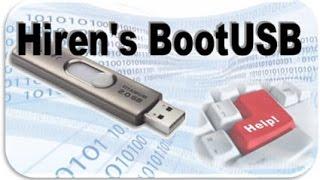Hướng dẫn tạo USB Hirent Boot [USB Boot] đơn giản nhất, dễ dàng nhất [Có link download]