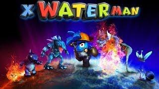 X WaterMan 3D игра на Андроид и iOS