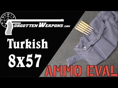 Ammunition Evaluation: 1941 Turkish 8mm Mauser