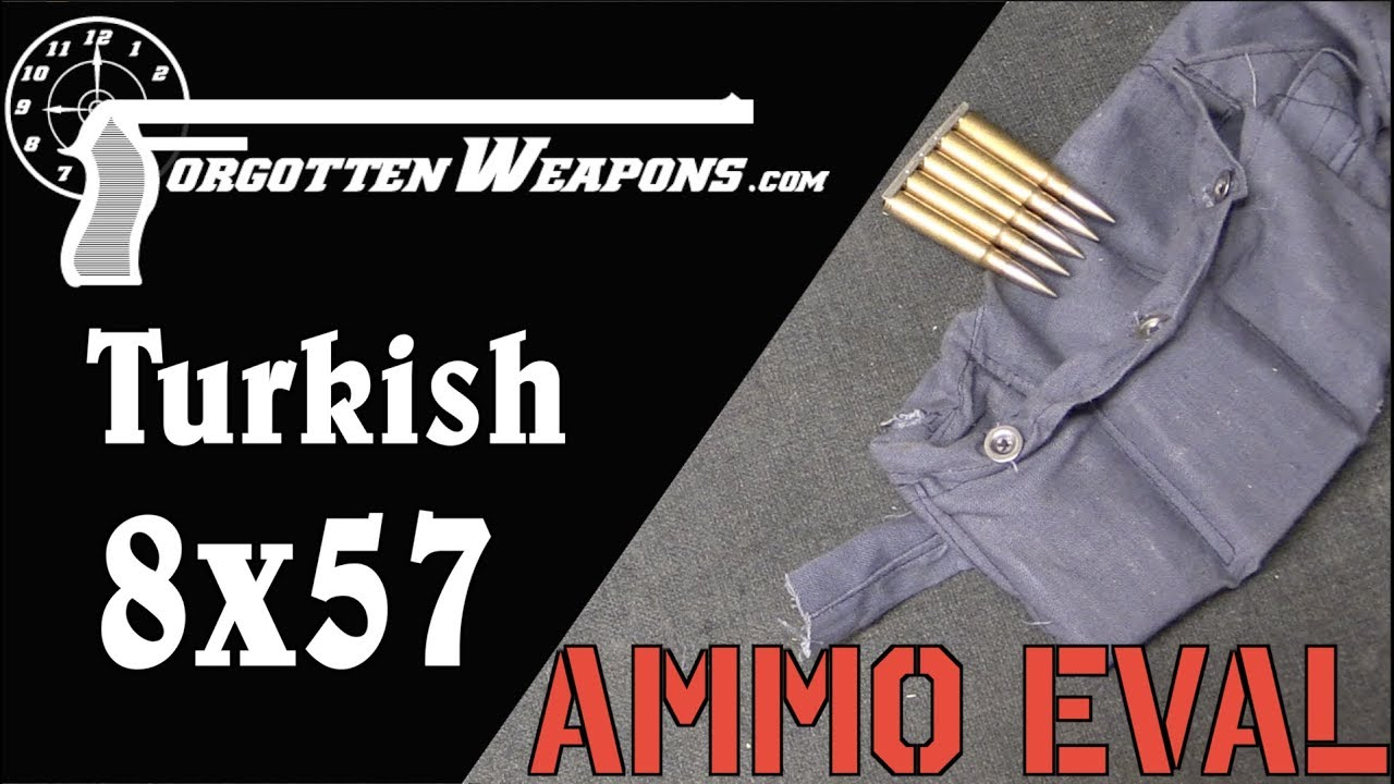 Ammunition Evaluation: 1941 Turkish 8mm Mauser – Forgotten