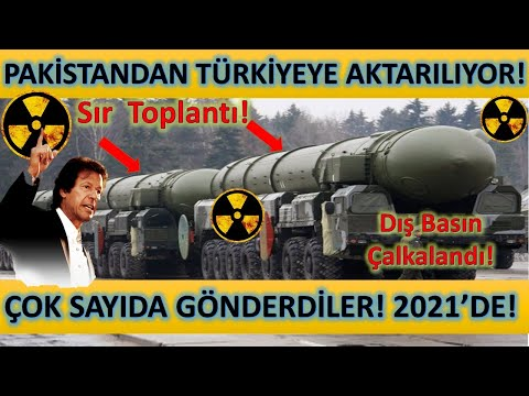 Pakistandan Türkiyeye Nükleer Füze Teknolojisi Aktarılıyor! Karar Alındı Çok Sayıda Gönderdiler.!!