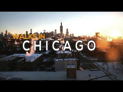 Walks In Chicago Downtown 2019