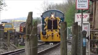 Avon Valley Railway - 12/04/14 - Diesel Gala Day