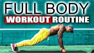 30 MINUTE FULL BODY WORKOUT(NO EQUIPMENT)