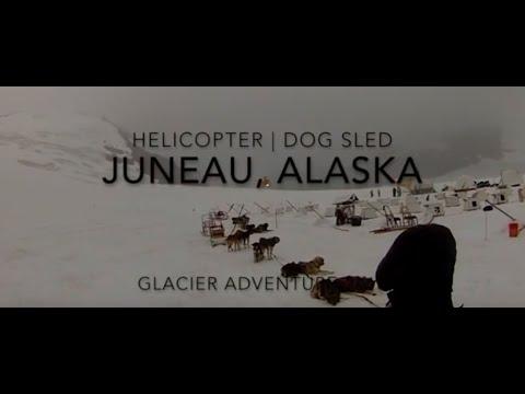 Juneau Alaska Glacier Helicopter Dogsled Adventure Tour