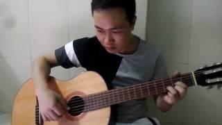 """"""" Hà nội mùa lá bay """" phùng hiệp guitar"""