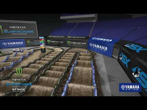 Yamaha Animated Track Map: San Diego 2020