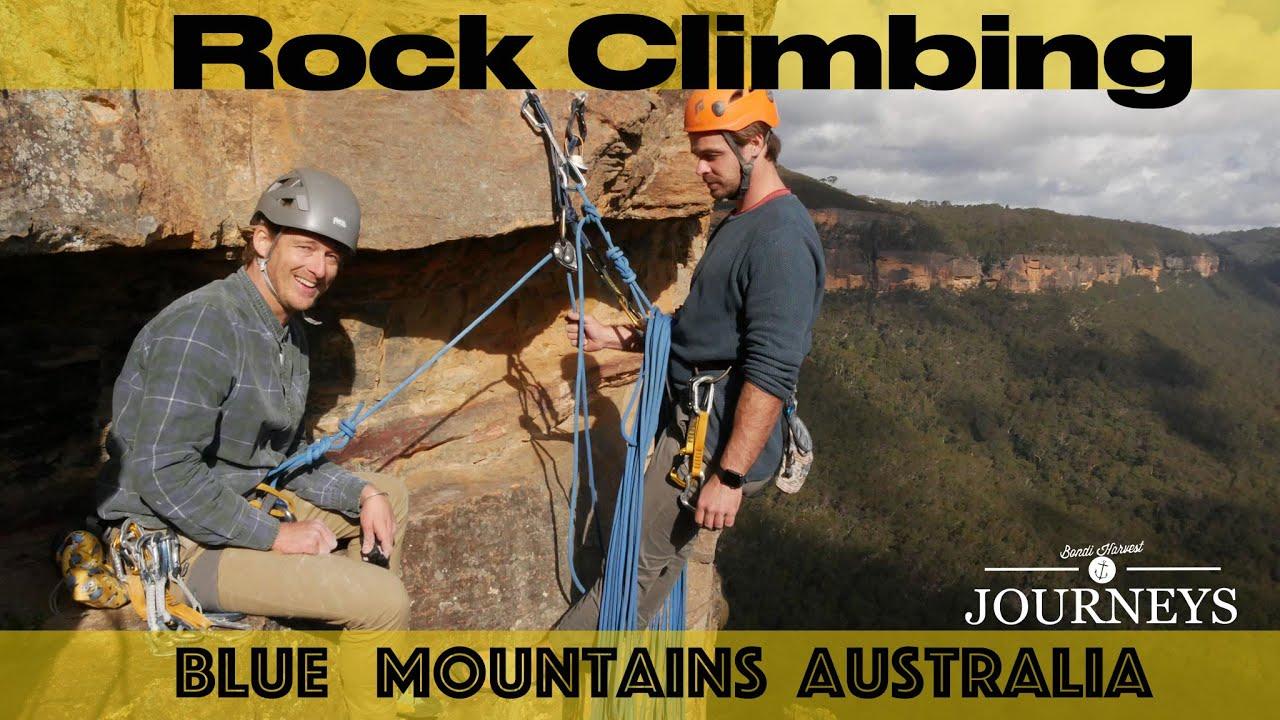 Blue Mountains Rock Climbing   Bondi Harvest Vlog