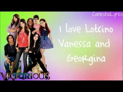 Victorious Cast  Five Fingaz To The Face Lyrics  HD