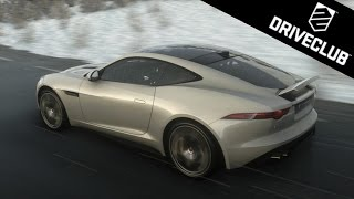 DriveClub | Jaguar F-Type R Coupé Gameplay - February Update (PS4)