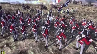 Napoleon Total War France vs Great Britian - 1 vs 2 Spanish Lakeside,