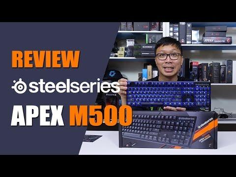 รีวิว: SteelSeries APEX M500 [Cherry MX Switch]