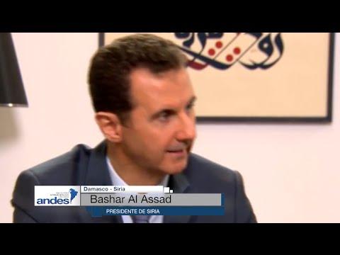 """Siria: Bashar Al Assad dice que """"Si Europa no apoya a terroristas, acaba crisis migratoria"""""""